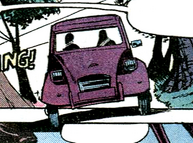Citroën 2CV - FYEO, Marvel Comic