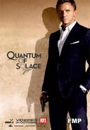 Quantum of Solace (James Bond, affiche)