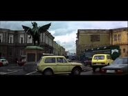 James Bond - Goldeneye (1995) - Char à Saint Pétersbourg