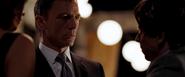 James Bond confrontant Greene