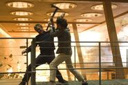 Quantum of Solace - Greene and Bond fight