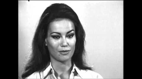 Claudine Auger - Interview (1965)