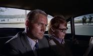 Grant et Klebb dans la voiture