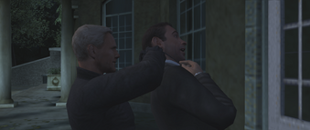 FRWL (game) - Red Grant strangles the fake 007