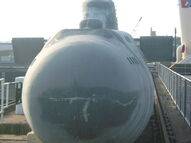 Victor-III submarine prop - The World Is Not Enough