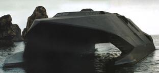 Stealth Boat Model