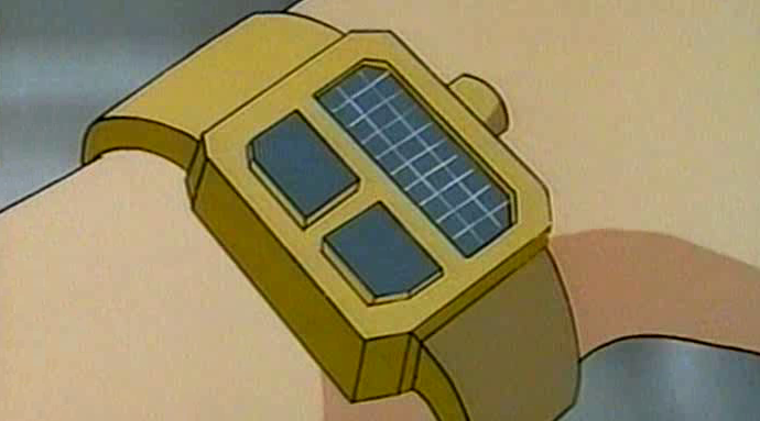 James Bond Jr.'s wristwatch