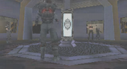 Activating the OMEN at the casino (GoldenEye - Rogue Agent, DS)