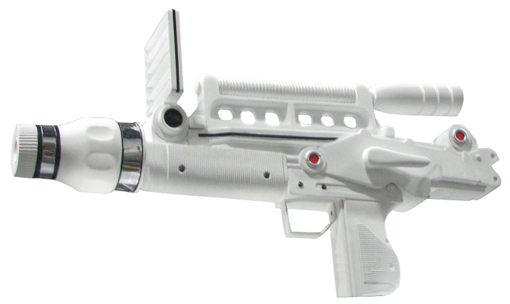 Moonraker laser rifle