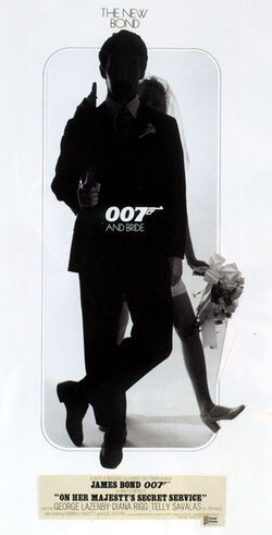 OHMSS, theatrical teaser poster (007 and bride).jpg