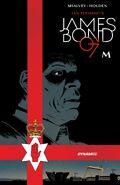 James Bond M cover (2018)