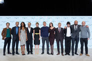 Spectre press conference - full cast and Mendes