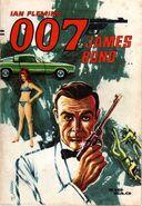 007 James Bond (Zig Zag comics) issue 1 cover