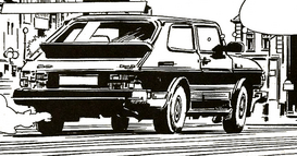 Saab 900 Turbo - Data Terror, Semic comics