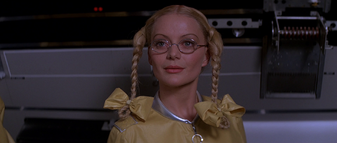 Dolly encourages Jaws to mutiny (Moonraker)