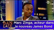 Marc Zinga, acteur dans le nouveau James Bond