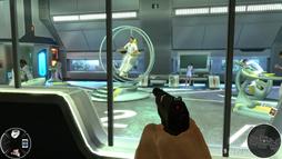 Astronaut training (007 Legends)