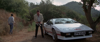 For Your Eyes Only - A thug breaks into Bond's Lotus