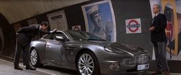 Q demonstrates the Aston Martin Vanish (Die Another Day)
