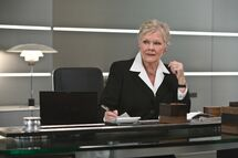 Quantum of Solace- M in her office (Promotional Still)