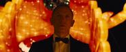 James Bond arrivant au casino