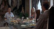 TMWTGG - Bond dines with Scaramanga and Goodnight