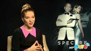 SPECTRE Léa Seydoux INTERVIEW