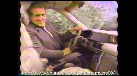 Sterling Car Commercial with James Bond Theme 1989