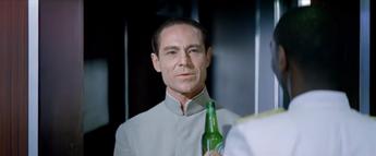 Dr. No cameo appearance (Crack the Case Heineken spot, 2012)