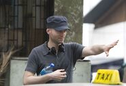 Quantum of Solace - Marc Forster on set 2