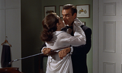 Sylvia Trench in Bond's shirt (Dr No)