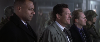 007- NSA agent Damien Falco (Played by Michael Madsen) in Die Another Day