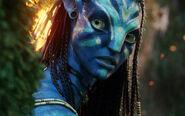 Neytiri beautiful warrior in avatar-wide