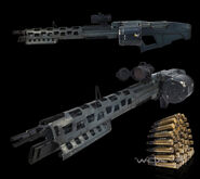 AVR M60 LMG With Scope and Ammo Belt