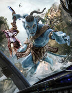 Avatar Action Scene by JackieTran