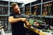 Avatar assault rifle live fireing prop