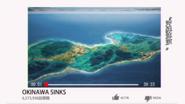Okinawa sinks