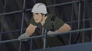 Koichiro at building site