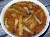 Enoki Mushroom Soup by Elle Bee