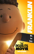The Peanuts Movie Franklin poster