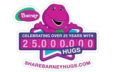 Barney25millionhugslogo.jpg