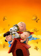 Peanuts Movie Textless Poster 01