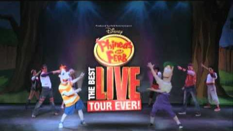 Disney's Phineas and Ferb The Best LIVE Tour Ever! Coming To Your Town