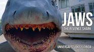 Jaws The Revenge Mechanical Shark at Universal Studios Florida