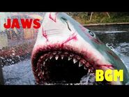 USJ ジョーズ キューラインBGM -Jaws Ride Queue BGM