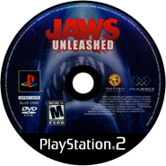 Jaws Unleashed PS2 CD