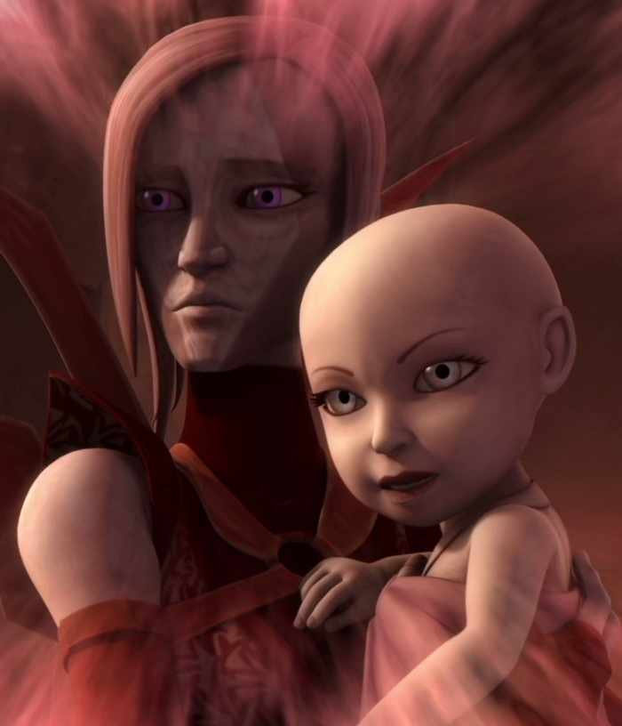 Asajj Ventress' Mutter
