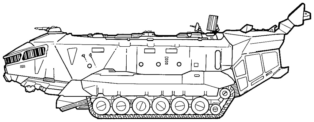 PX-4 Mobile Kommandozentrale