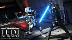 Star Wars Jedi Fallen Order Official Gameplay Demo – EA PLAY 2019