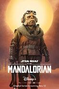 Mandalorian Poster Kuiil
